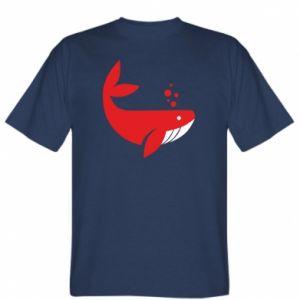 T-shirt Rad whale