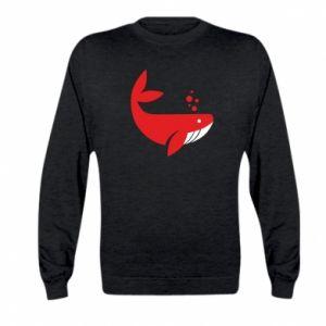Bluza dziecięca Rad whale