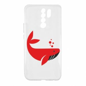 Etui na Xiaomi Redmi 9 Rad whale