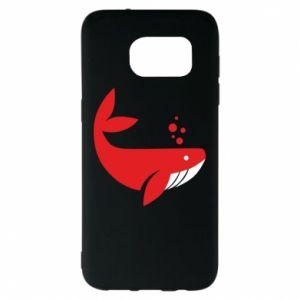 Etui na Samsung S7 EDGE Rad whale