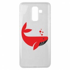 Etui na Samsung J8 2018 Rad whale