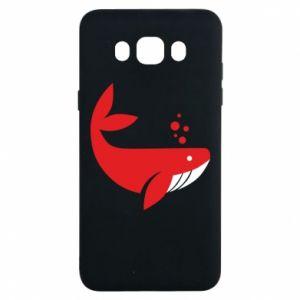 Etui na Samsung J7 2016 Rad whale