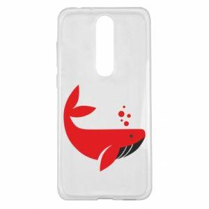 Etui na Nokia 5.1 Plus Rad whale
