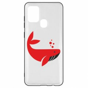 Etui na Samsung A21s Rad whale