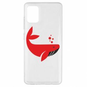 Etui na Samsung A51 Rad whale