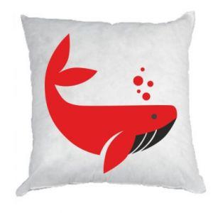Poduszka Rad whale