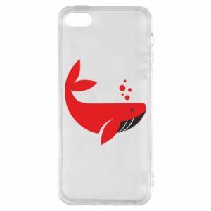 Etui na iPhone 5/5S/SE Rad whale