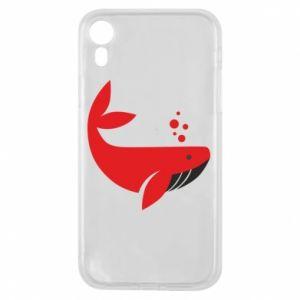 Etui na iPhone XR Rad whale