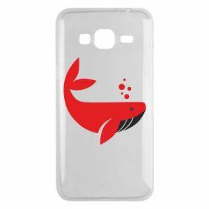 Etui na Samsung J3 2016 Rad whale