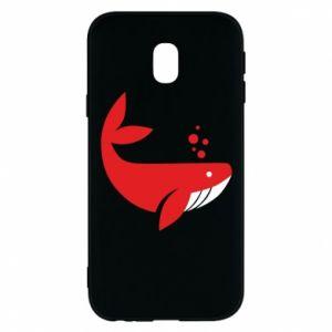Etui na Samsung J3 2017 Rad whale