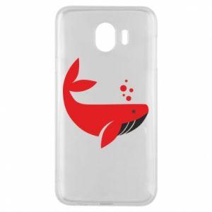 Etui na Samsung J4 Rad whale