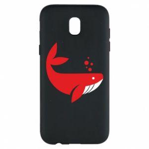 Etui na Samsung J5 2017 Rad whale