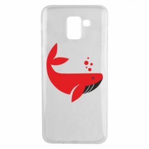 Etui na Samsung J6 Rad whale