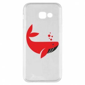Etui na Samsung A5 2017 Rad whale