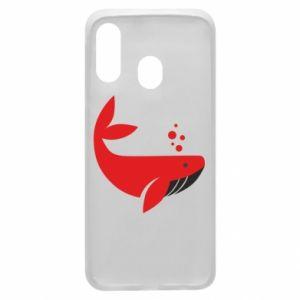 Etui na Samsung A40 Rad whale