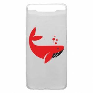 Etui na Samsung A80 Rad whale