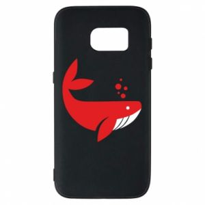 Etui na Samsung S7 Rad whale
