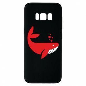 Etui na Samsung S8 Rad whale