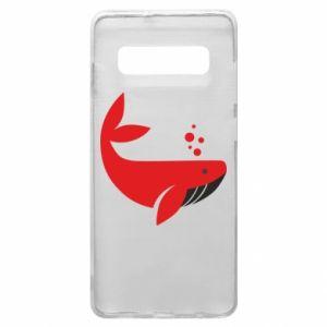 Etui na Samsung S10+ Rad whale