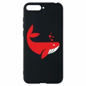 Etui na Huawei Y6 2018 Rad whale