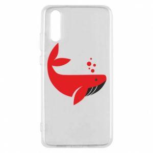 Etui na Huawei P20 Rad whale