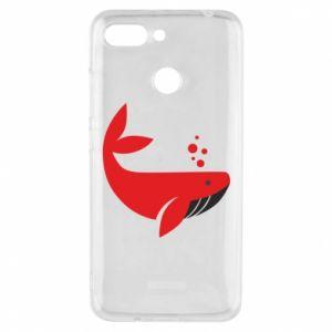 Etui na Xiaomi Redmi 6 Rad whale