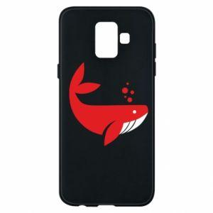 Etui na Samsung A6 2018 Rad whale