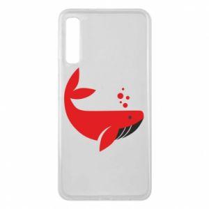 Etui na Samsung A7 2018 Rad whale