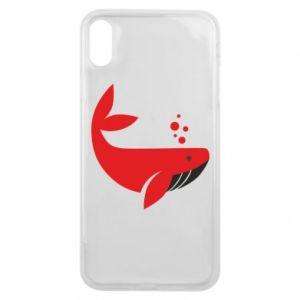Etui na iPhone Xs Max Rad whale