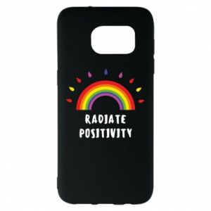 Samsung S7 EDGE Case Radiate positivity