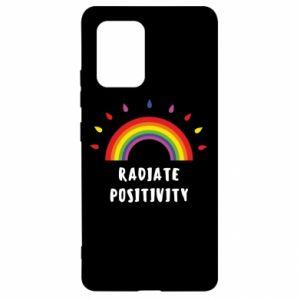 Samsung S10 Lite Case Radiate positivity