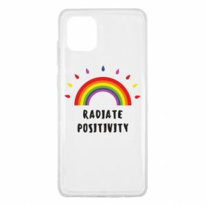 Samsung Note 10 Lite Case Radiate positivity