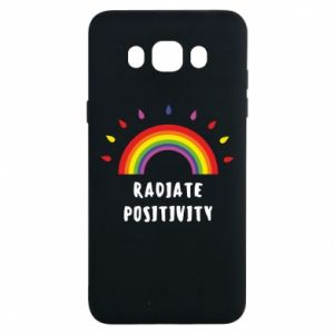 Samsung J7 2016 Case Radiate positivity