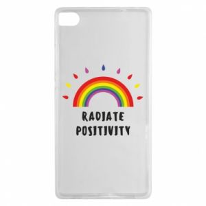 Huawei P8 Case Radiate positivity