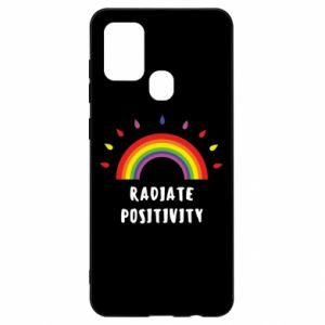 Samsung A21s Case Radiate positivity