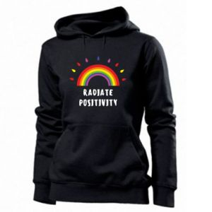 Women's hoodies Radiate positivity