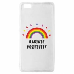 Huawei P8 Lite Case Radiate positivity
