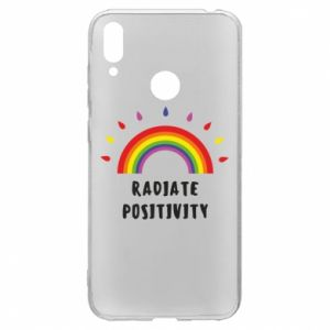 Huawei Y7 2019 Case Radiate positivity