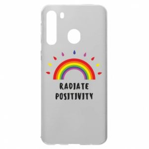 Samsung A21 Case Radiate positivity