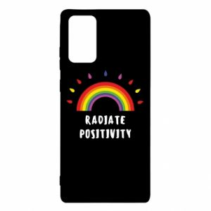 Samsung Note 20 Case Radiate positivity