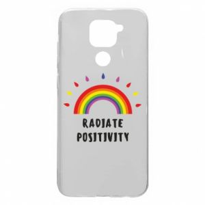 Xiaomi Redmi Note 9 / Redmi 10X case % print% Radiate positivity
