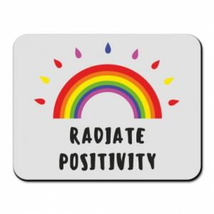 Mouse pad Radiate positivity