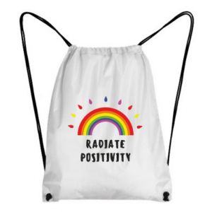 Backpack-bag Radiate positivity