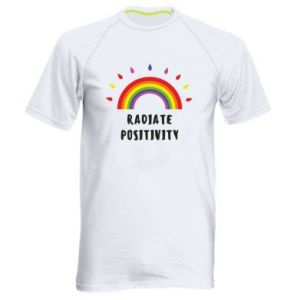Men's sports t-shirt Radiate positivity