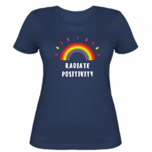 Women's t-shirt Radiate positivity