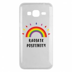 Samsung J3 2016 Case Radiate positivity