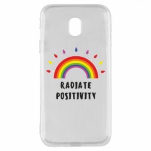 Samsung J3 2017 Case Radiate positivity