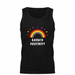 Męska koszulka Radiate positivity