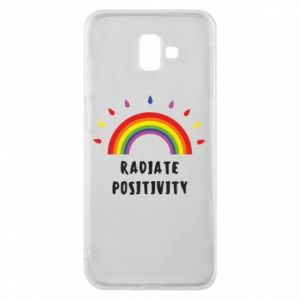 Samsung J6 Plus 2018 Case Radiate positivity