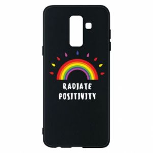 Samsung A6+ 2018 Case Radiate positivity
